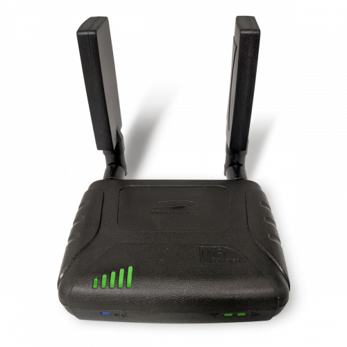 SA2100 with cell signal booster antennas